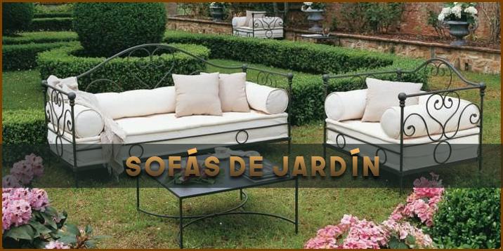 Sofás de jardín